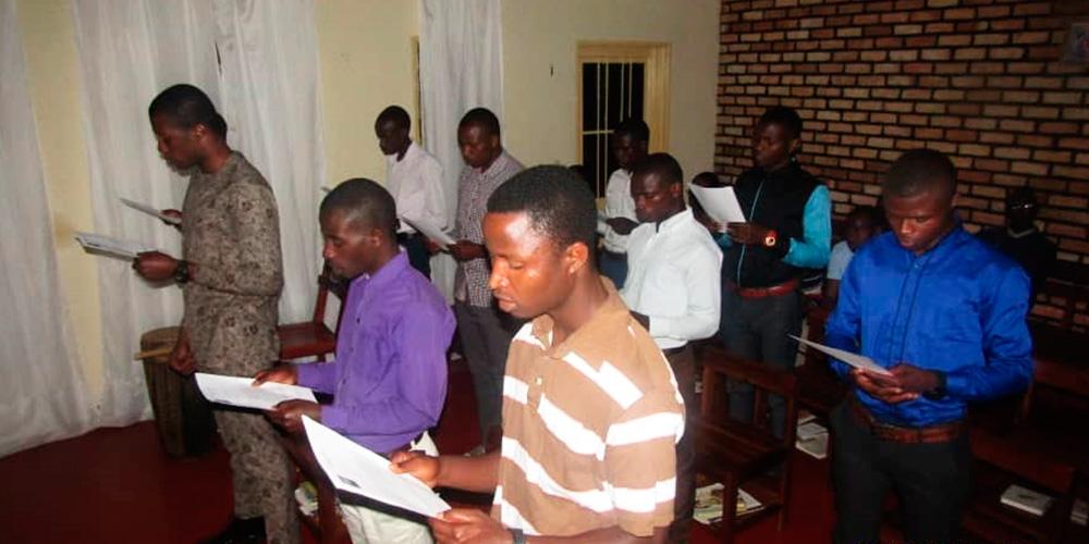Renovación votos en Rwanda