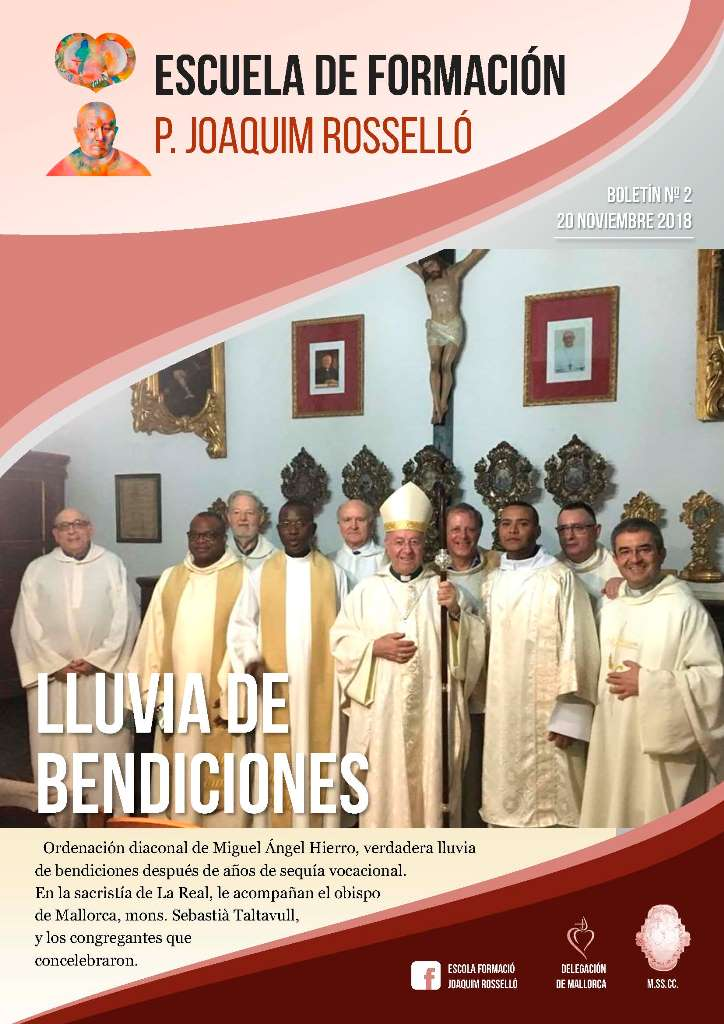 BOLETÍN_Escuela de Formación P. Joaquim Rosselló